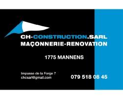CH Construction Sàrl